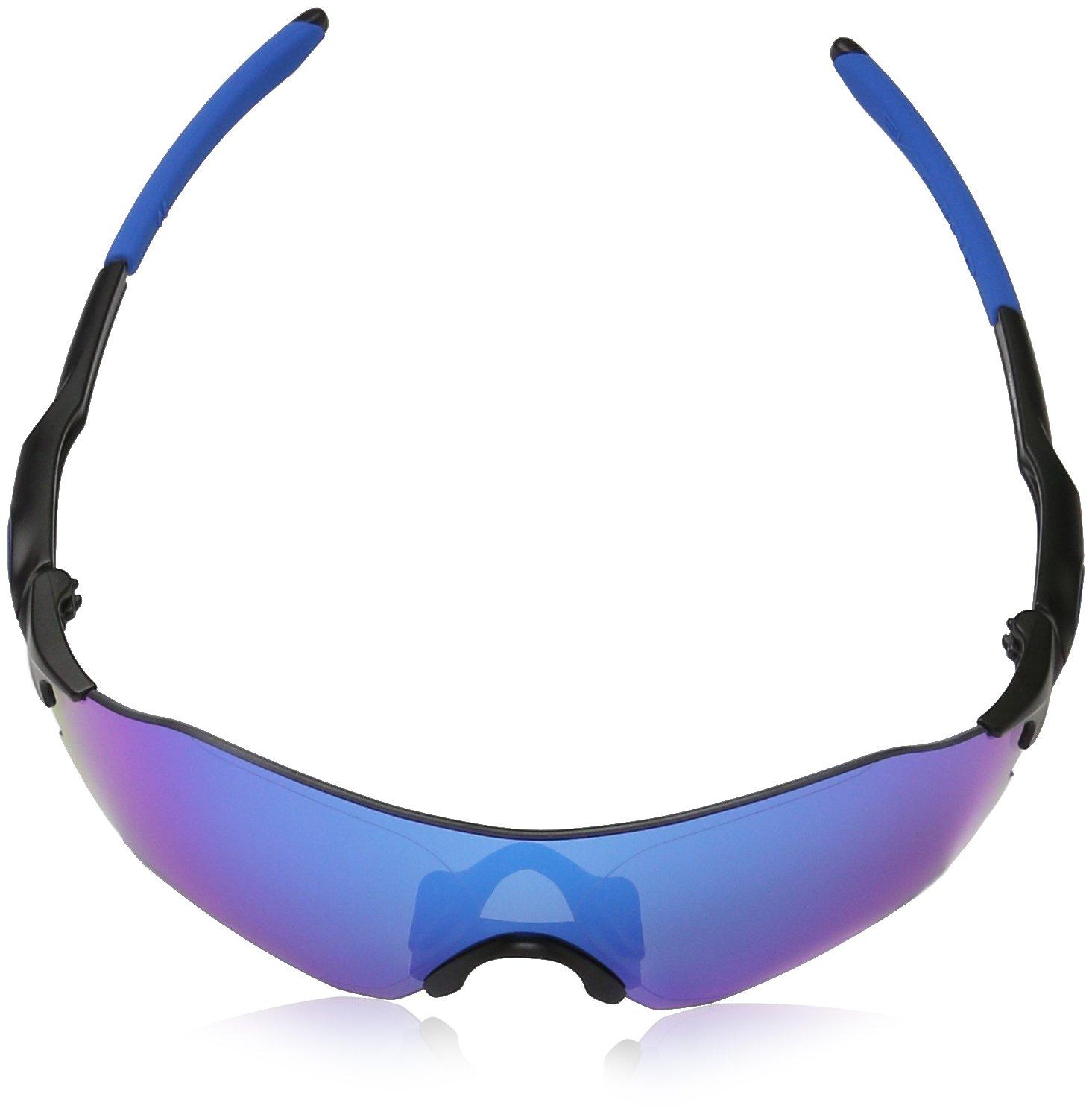 034243bbe7af Oakley Men's Evzero Range Polarized Iridium Rectangular Sunglasses, Matte  Black, 38 mm