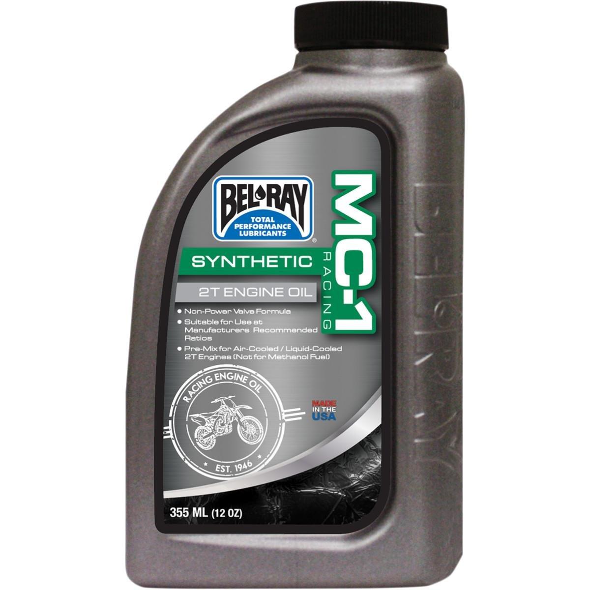 Bel-Ray MC-1 Racing Full Synthetic 2T Engine Oil - 12.8oz. 99400-B12.8 620141