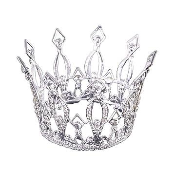 Beaupretty tiara de corona nupcial diadema exquisita corona ...