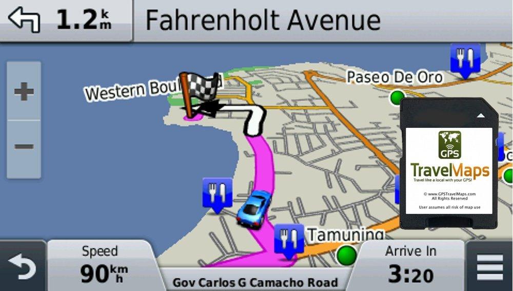 Amazon.com: St. Vincent & Grenadines GPS Map (SD Memory Card ...