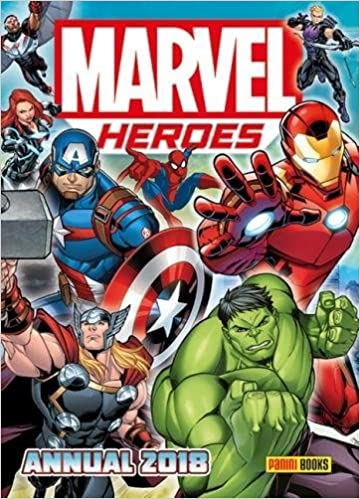 Marvel Heroes Annual 2018 Annuals Amazoncouk Panini 9781846532306 Books