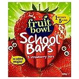 Fruit Bowl School Bars Strawberry (5x20g) - Pack of 2