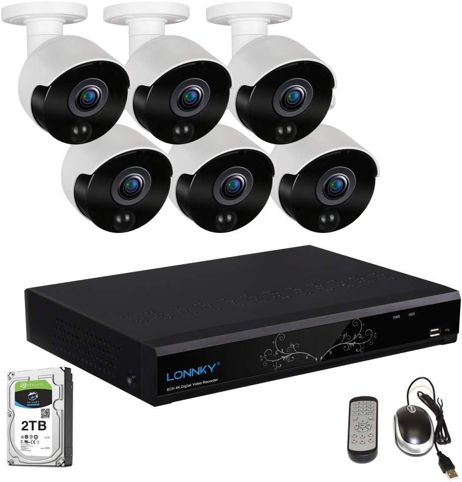 Lonnky 4 Kanal Full Hd Nvr Digitaler Netzwerk Video Kamera