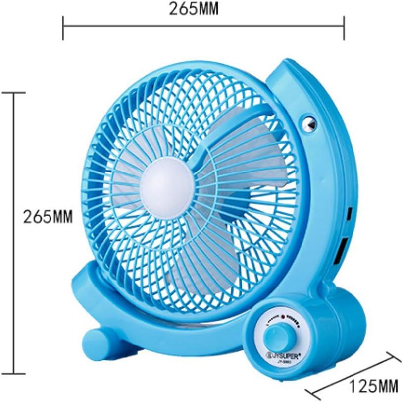 AHAI YU - Mini ventilatore ricaricabile a energia solare, portatile, portatile, ideale per studenti e dormitori bianco Rosa