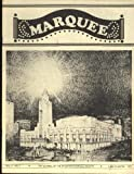 img - for Marquee, the Journal of the Theatre Historical Society Vol. 4, Numbers 1, 2, 3, 4; 1972 book / textbook / text book