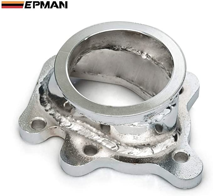 """To T25 T28 GT25 GT28 2.5/"""" 63mm V-band Clamp Flange Turbo Dump Pipe Adapter"""