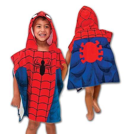 Marvel Spiderman Hooded Bath/Beach Poncho Towel
