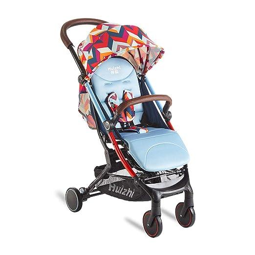 XUE Cochecito de bebé, Paraguas portátil Plegable Carro de ...