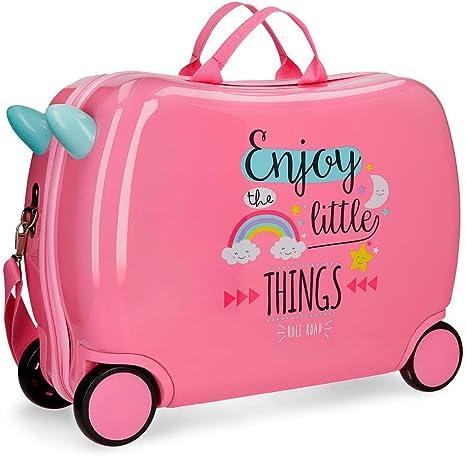 2 roues multidirectionnelles 2 roues bidirectionnelles Minnie Love Valise Enfant