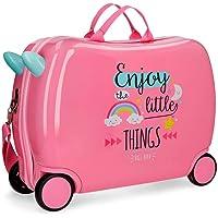 Roll Road Little Things Equipaje infantil, 50 cm, 34 litros, Rosa