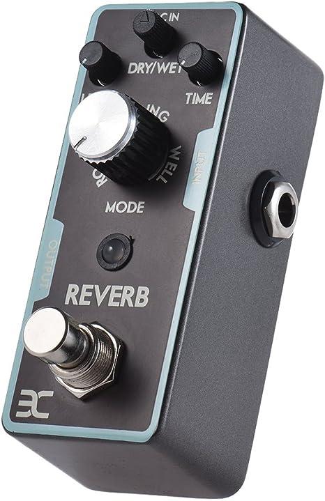 EX Pedal de reverberación digital Mini Pedales de Guitarra Reverb ...