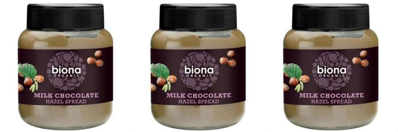 (3 PACK) - Biona - Organic Choc Hazelnut Spread   350g   3 PACK BUNDLE