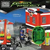 Mega Bloks Alien Agency-The Arrival~Freaky Fill-Up Building Blocks Play Set #5601
