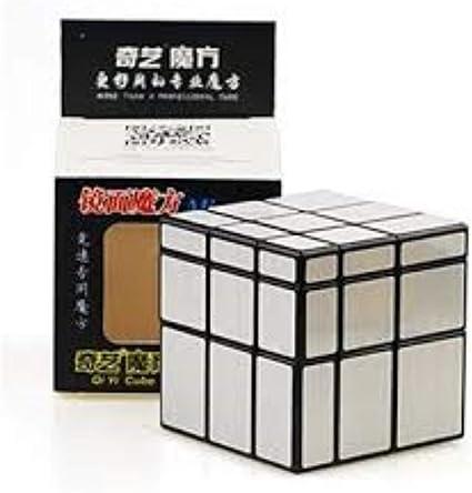 QiYi Rubik Rocketers 3 x 3 Silver Mirror Speed Magic Cube