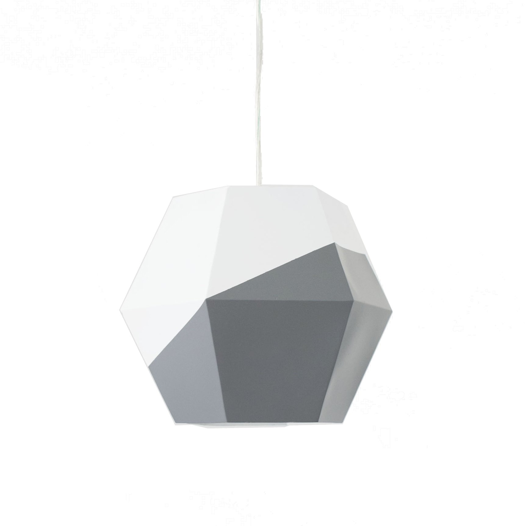 Petunia Pickle Bottom Southwest Skies Hanging Ceiling Pendant Light, Gray/White by Petunia Pickle Bottom