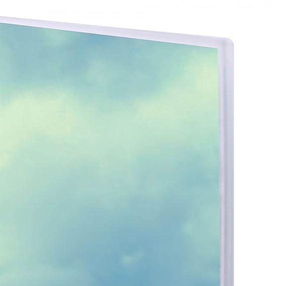 Pizarra magnética de cristal blanco de Banjado/60 x 40 cm ...