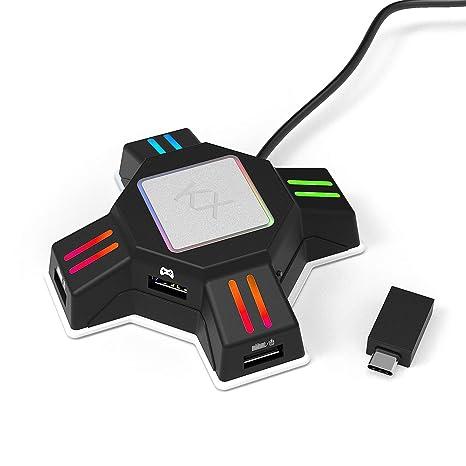 VR@LOVE KX Keyboard Mouse Converter Compatible con Todos los ...