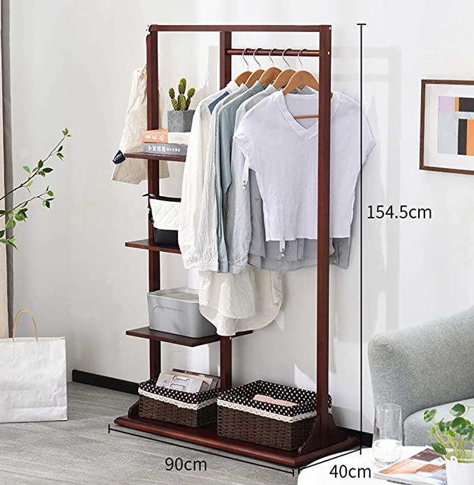 Amazon.com: LQQFF Creative Simplicity Coat Rack Floor ...