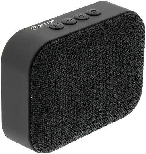 MicroSD USB FM-Radio Freisprechen Bluetooth-Lautsprecher von Tellur Callisto Schwarz