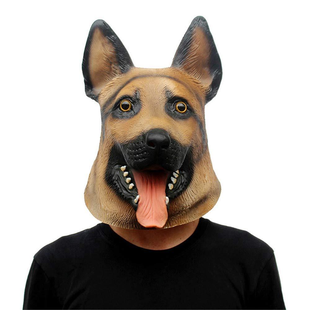JTWJ Halloween Maske Weihnachtskugel Wolf Dog Styling Maske Party Maske