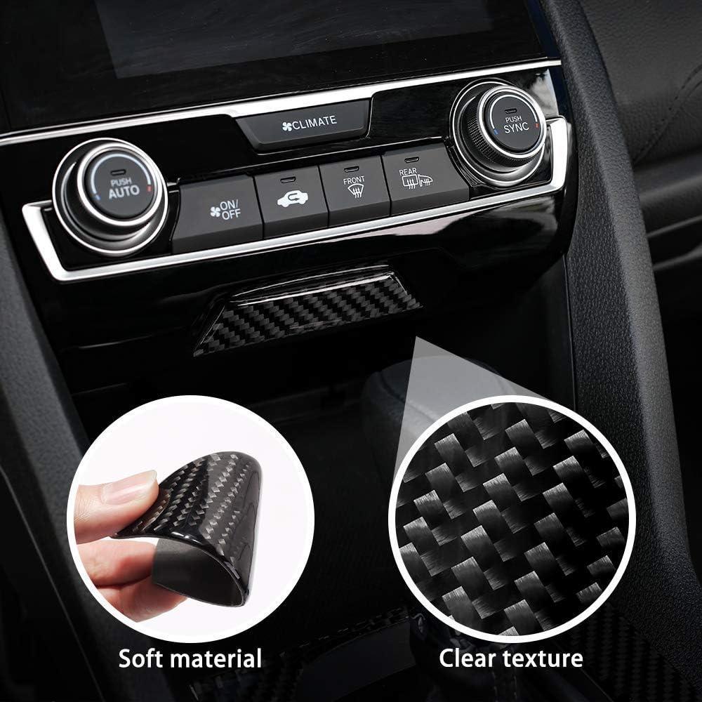 L U Real Carbon Fiber Beifahrer Airbag Licht Borte Abdeckung Für 2016 2017 2018 2019 Honda Civic 10 Gen Withoutlogo Küche Haushalt