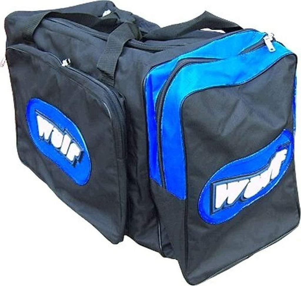 Wulf Jumbo Motocross mx motox quad enduro Kit Bag Blue