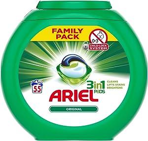 'Ariel Original 3-In-1 Pods Family Pack, 1558 g'