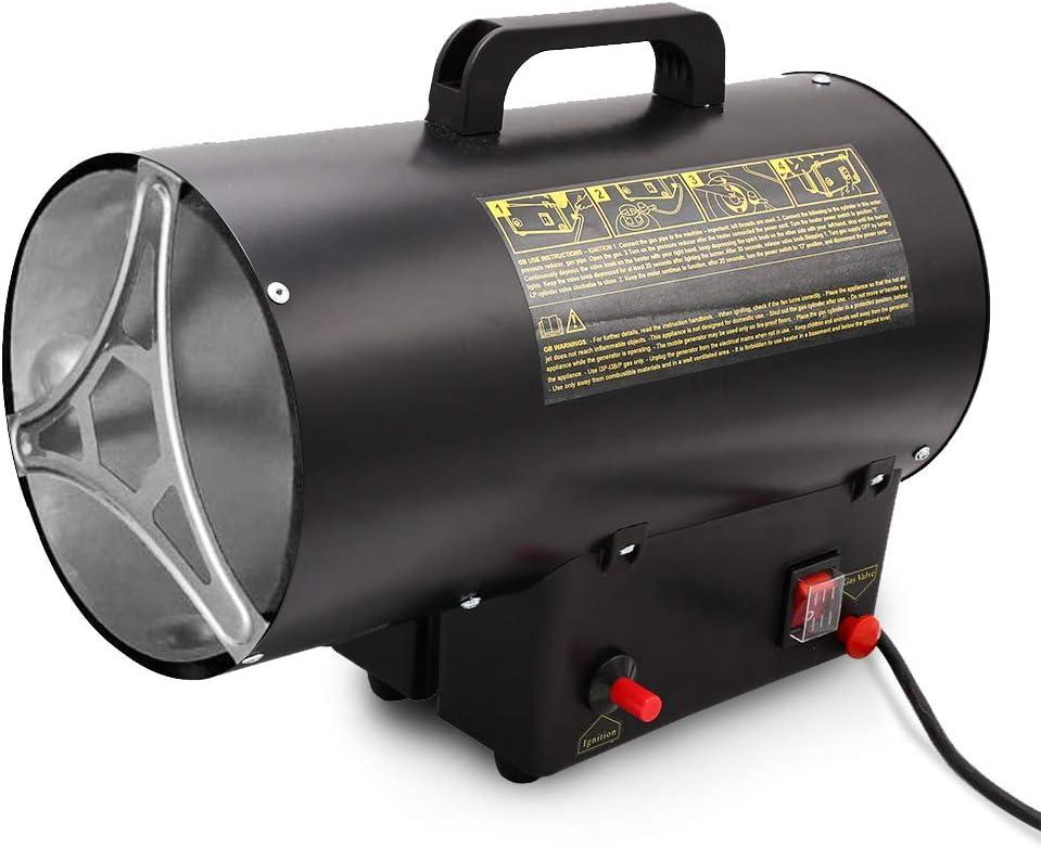 15 kW Calentador de gas para botella de gas regulador de presión de gas 700mbar manguera de gas calentador de gas calentador de gas calentador de gas ...