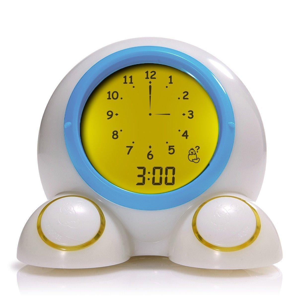 Onaroo Teach Me Time Talking Alarm Clock, Sleep Trainer and Nightlight 8081