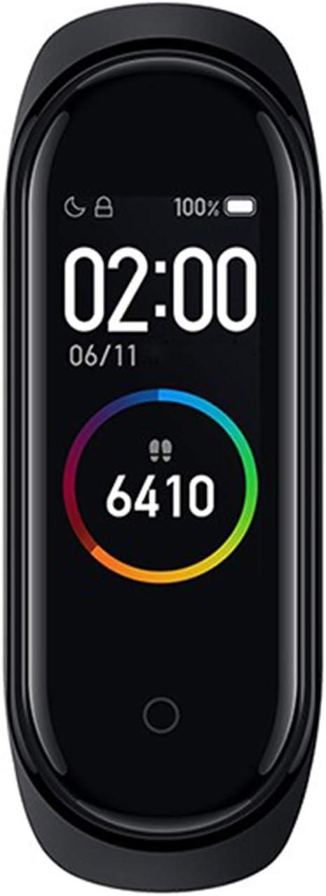 Mi band 4 Xiaomi Global Version Fitness Tracker Fashion Touch Screen Smart Watch Sport Wristband Bracelet Heart Rate Monitor Activity Workout 50M Waterproof Pedometer Weather Forecast Reminder Sleep