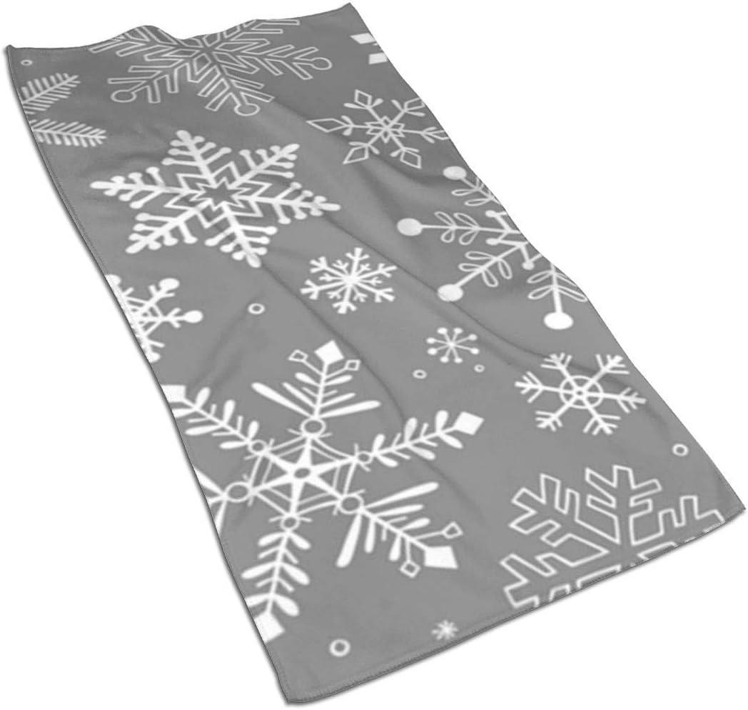 christmas hand towels grey