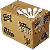 Dixie Mediumweight Plastic Teaspoons, 1000ct