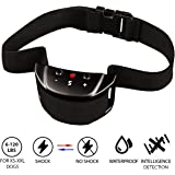 [NEW 2018 VERSION] Bark Collar with UPGRADED Smart Chip - Best Intelligent Dog Shock, Beep Anti-Barking Collar. No Bark Control for Small / Medium/Large Dogs - Safe Stop Barking Device New