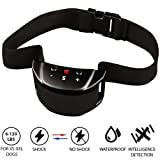 The Best Industries [NEWEST 2018] Bark Collar - Smart Detection Chip for Fast No-Bark Training - Dual Stop Anti-Barking Mode: Beep/Vibration, Shock for Small, Medium, Large Dogs - IPx6 - No Bark Safe