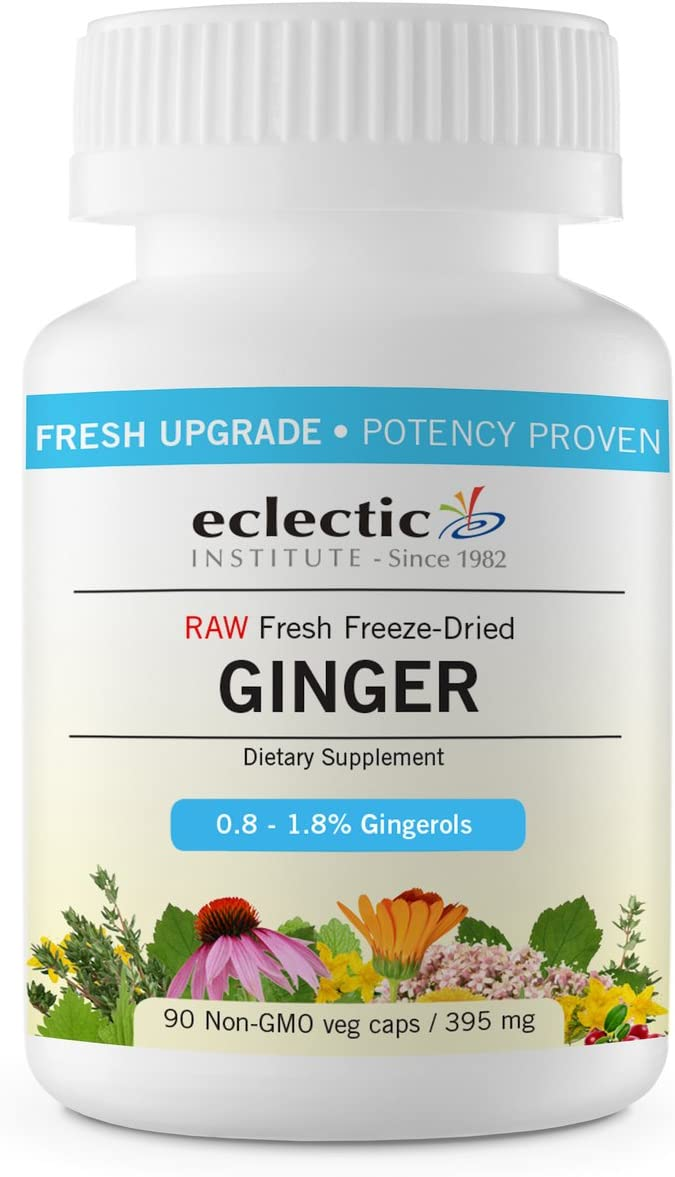 Eclectic Ginger 395 Mg Cog Fduv, Blue, 90 Count