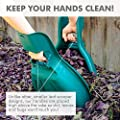 MEKKAPRO Original Leaf Scoops and Claws, 1-Pair (2 Pieces), Sturdy Ergonomic Grip, Large Hand Held Garden Rake Grabbers for Fast Leaf and Lawn Grass Removal