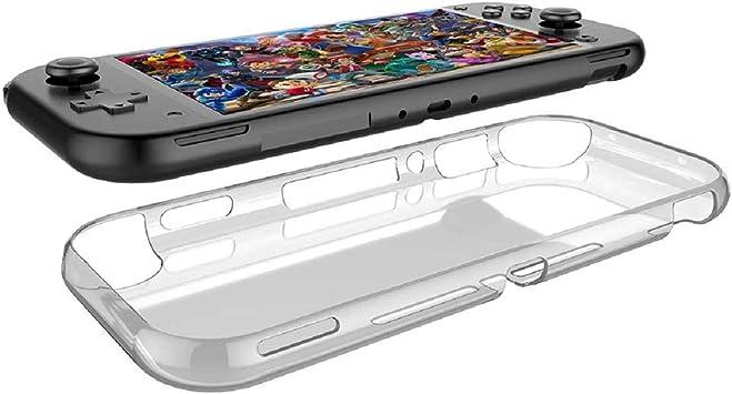 Aerku Funda Nintendo Switch Lite, Silicona [Ultra Slim] Funda Suave TPU Transparente, Resistente Anti-Arañazos Protectora Case Cover para Nintendo Switch Lite: Amazon.es: Electrónica