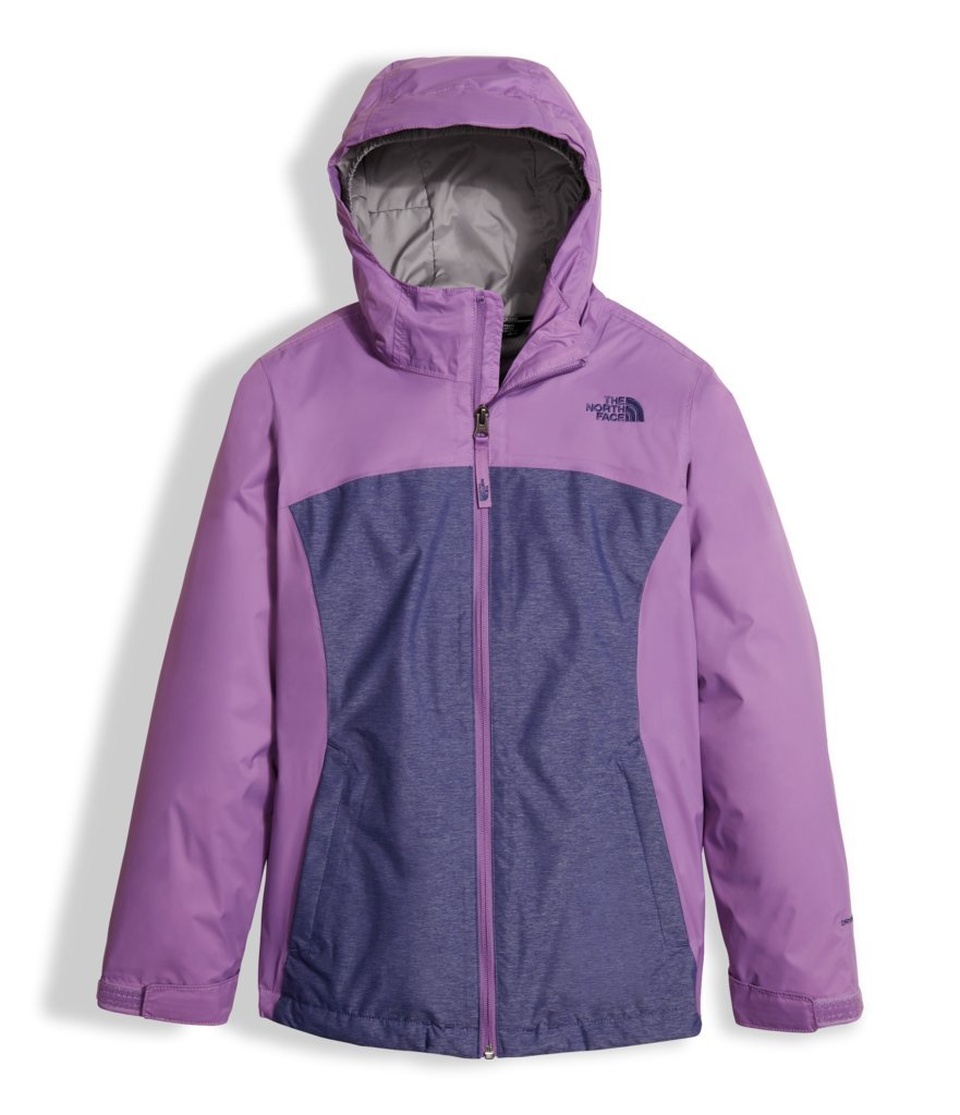 The North Face Girl's Osolita Triclimate Jacket - Bellflower Purple - XS (Past Season) by The North Face