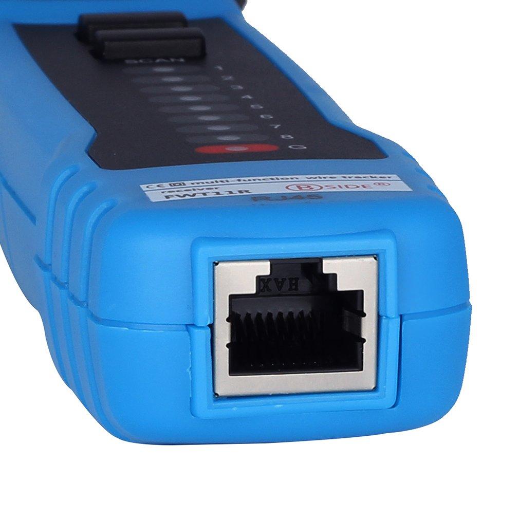 Toner Ethernet LAN Detector Network Cable Tester Line Finder FWT11 Emitter RJ11 RJ45 Cat5 Cat6 Wire Tracker Telephone Line Tracker