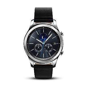 Samsung Gear S3 Classic Smartwatch (Bluetooth),SM-R770NZSAXAR – US Version with Warranty