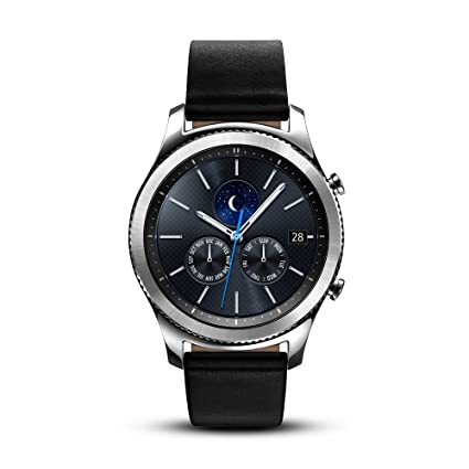 af09d12a7 Amazon.com: Samsung Gear S3 Classic Smartwatch (Bluetooth), SM-R770NZSAXAR  – US Version with Warranty: Cell Phones & Accessories