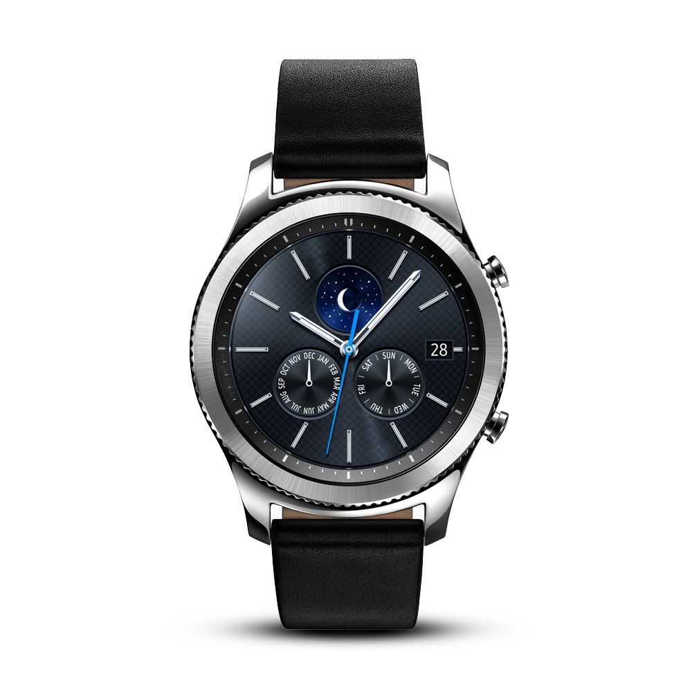 Samsung Gear S3 Classic Smartwatch (Bluetooth),  SM-R770NZSAXAR - US Version with Warranty
