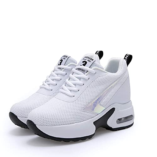 Tacco 8 Sneakers Zeppa Donna Cm Con Interna Casuale Scarpe Aonegold Ginnastica Sportive Da Ibv7fgyY6