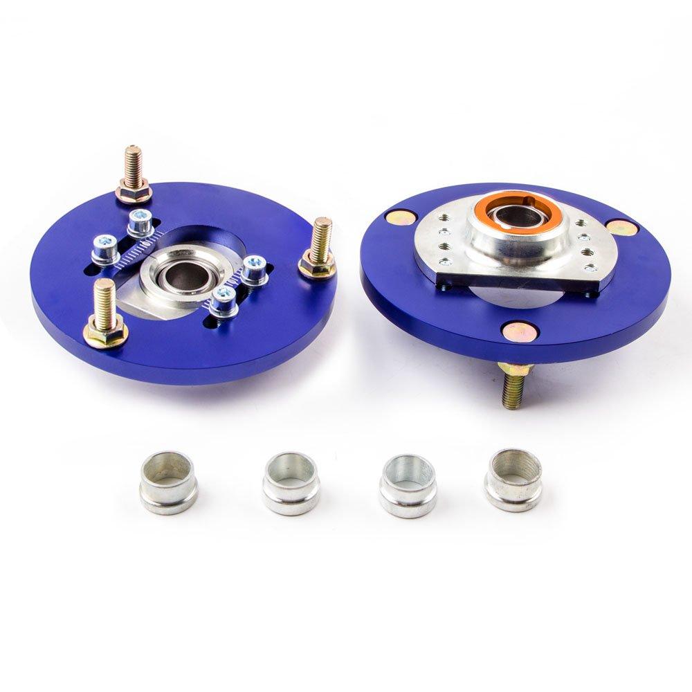maXpeedingrods Camber plate Kit Combiné s Fileté s Bleu