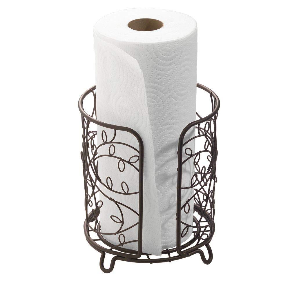 InterDesign Twigz Paper Towel Holder for Kitchen Countertops - Bronze by InterDesign