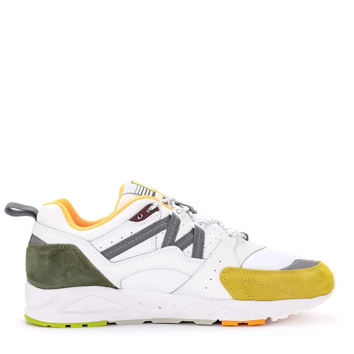 8124d1e2b594d Amazon.com | Karhu Men's Sneaker Fusion 2.0 in Pelle E Nylon Bianco ...