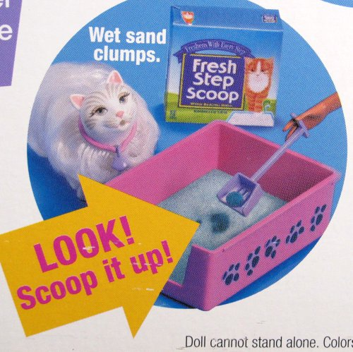 Kitty Fun BARBIE Doll AA w Kitty, Cat Carrier & Accessories! (2000)