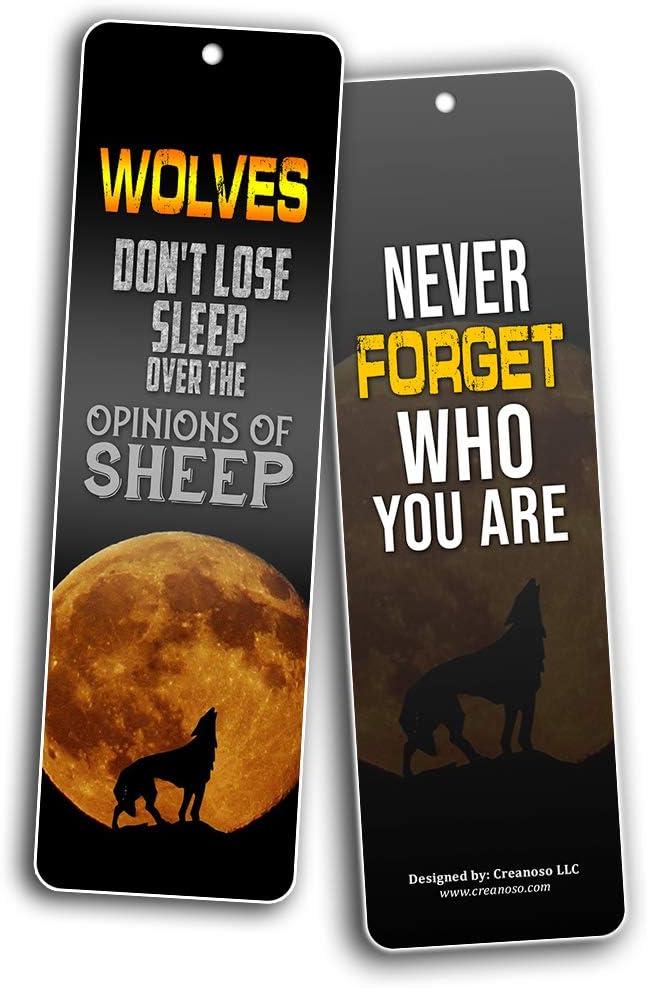 Creanoso Lesezeichen Wolf 12-Pack 12-Pack,