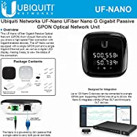 Ubiquiti Networks UF-Nano UFiber Gigabit Passive Optical Network Unit