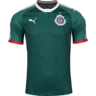 Amazon.com  Puma Chivas Alternative Jersey 2017 - 2018 (S)  Clothing 615f1c9ea